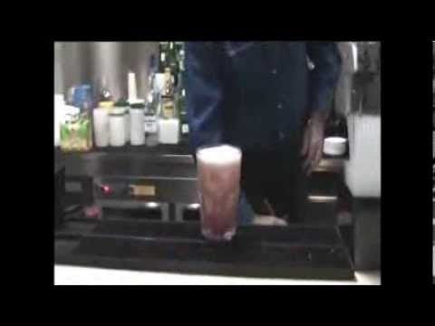 How To Make Singapore Sling Cocktail Long Drink.mpg