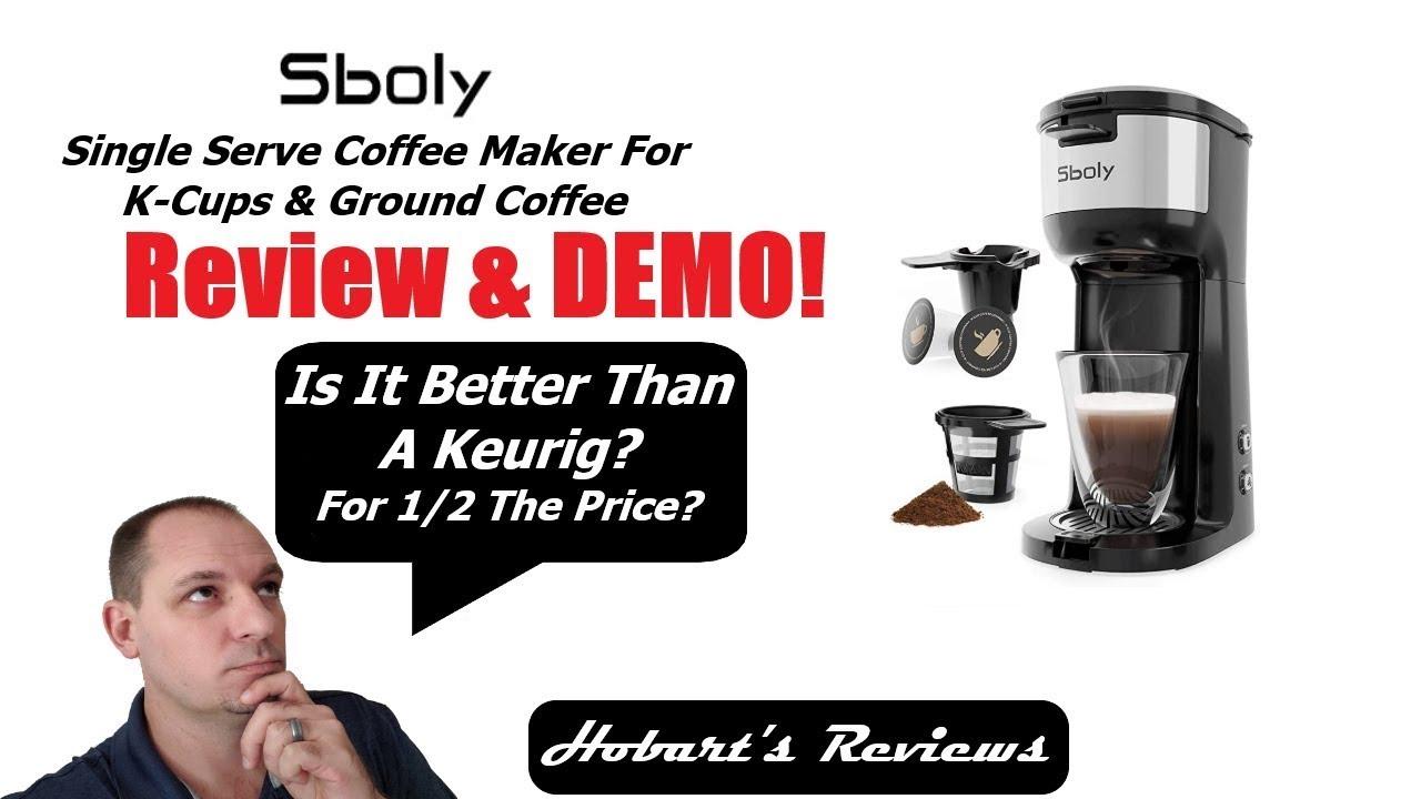 Sboly Single Serve Coffee Maker Review Best Single Serve Coffee Maker For Office And Home Youtube