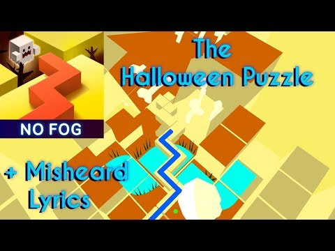 Dancing Line - The Halloween Puzzle (No Fog) + Misheard Lyrics