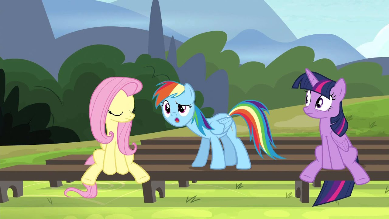 Rainbow Dash ~ Well, I give it a... woah, woah, WHAT?