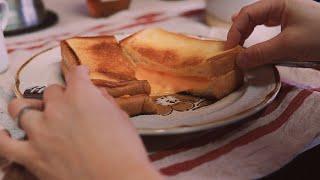 Toast Recipeㅣ그릴드치즈샌드위치ㅣ브런치 메뉴로…