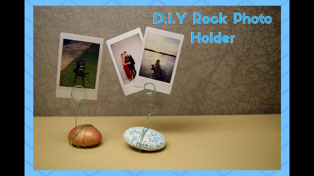 Diy college decor campus crafts 7 wire rock photo holder youtube diy college decor campus crafts 7 wire rock photo holder jeuxipadfo Image collections