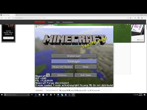 How To Join Your Friends Minecraft Forge Server Easy