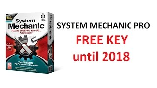 System Mechanic Pro with Key Until 2018