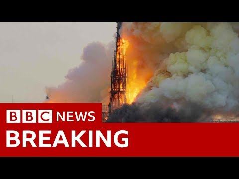 The KiddChris Show - Notre Dame Historic Cathedral Destroyed By Immense Fire