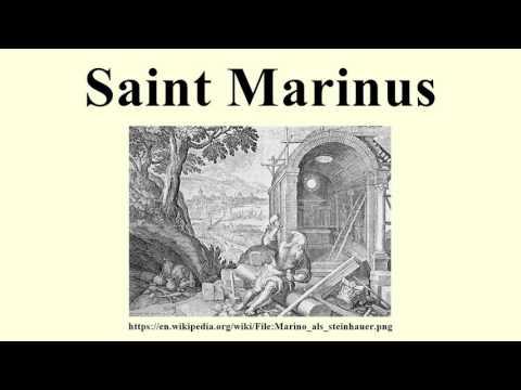 Saint Marinus