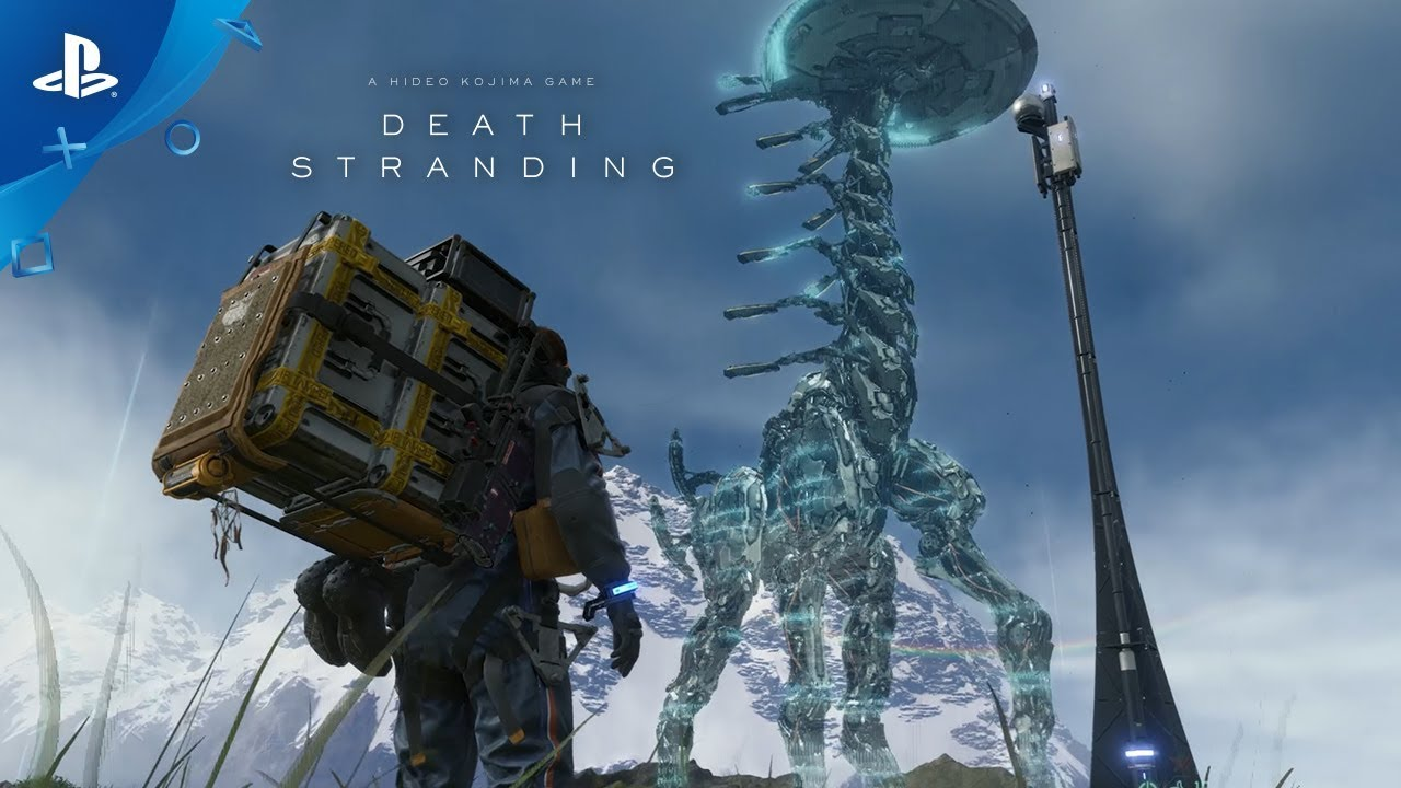 Death Stranding - Construction Short Trailer | PS4