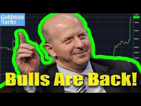 Goldman Sachs New CEO Bullish On Bitcoin | MasterCard Crypto Patent Approved!