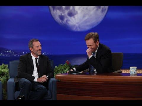 Hugh Laurie Interview Part 03 - Conan on TBS