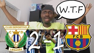Download Video Leganes VS Barcelona 2-1 Barcelona Fan Reaction: WE SUCK MP3 3GP MP4