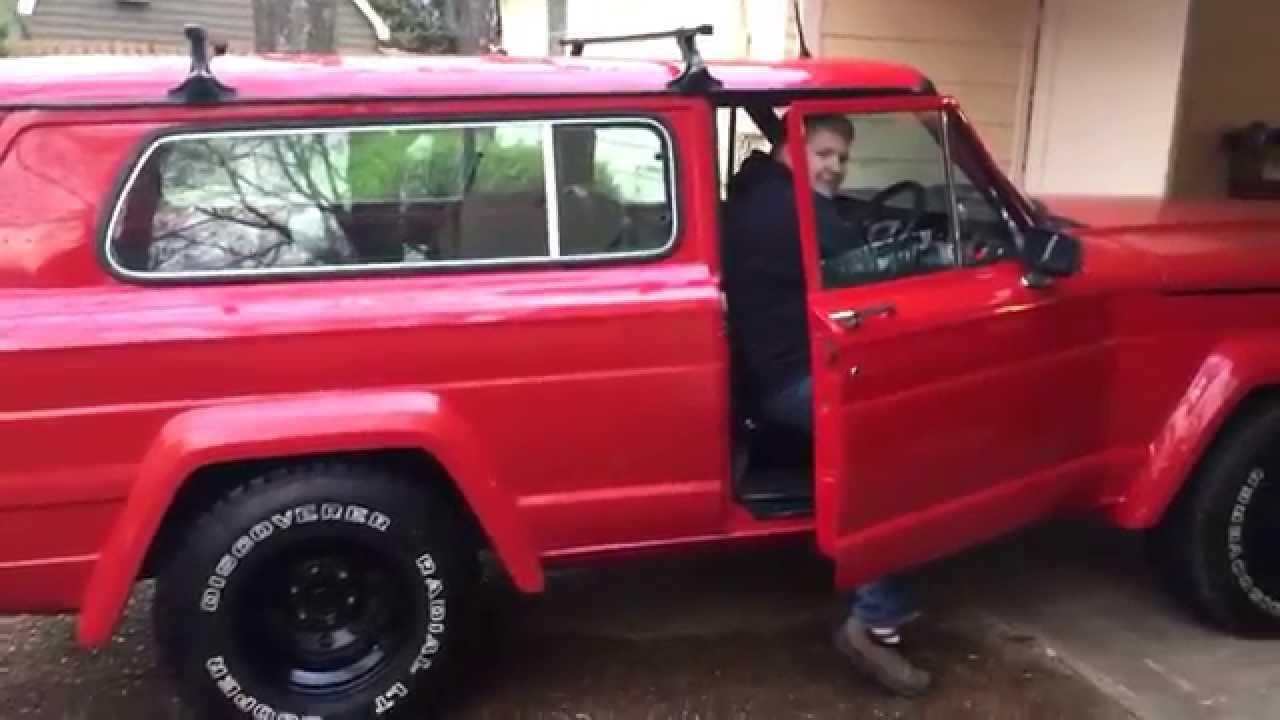 1981 jeep cherokee 360 beast mode [ 1280 x 720 Pixel ]