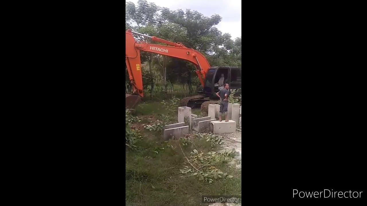 Gorong-Gorong Beton Persegi 1x1 m - YouTube