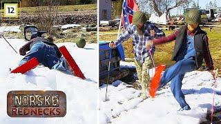 Norske Rednecks | Dansker prøver å gå på ski | TVNorge