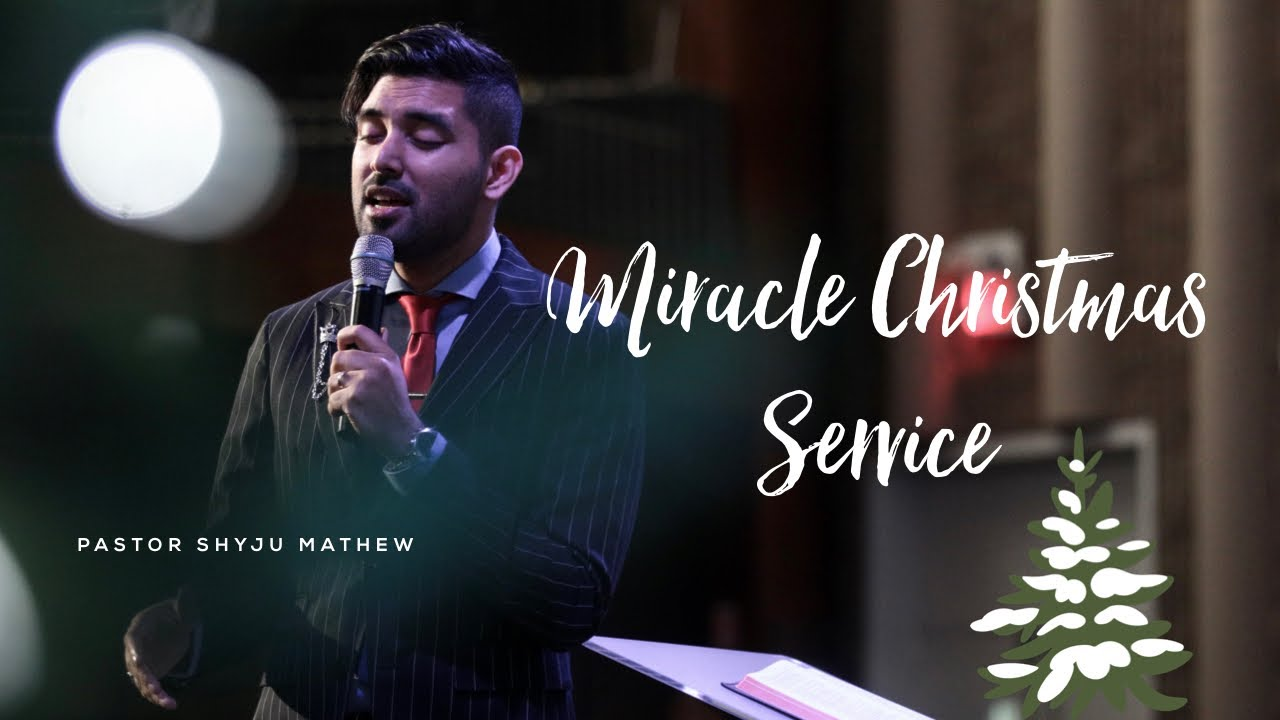 Miracles gift wrapped on Christmas service!!!