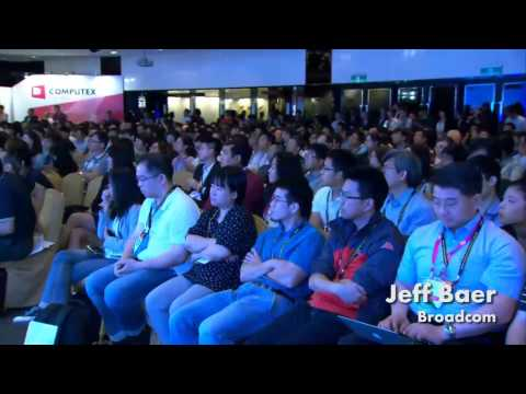 COMPUTEX TAIPEI 2015 Wearable Technology Forum- Broadcom