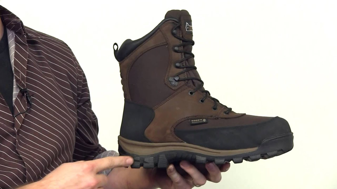 Rocky Core Waterproof Insulated Outdoor Boot Style# - FQ4753 - YouTube