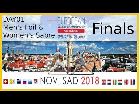 European Championships 2018 Novi Sad Day01 - Finals