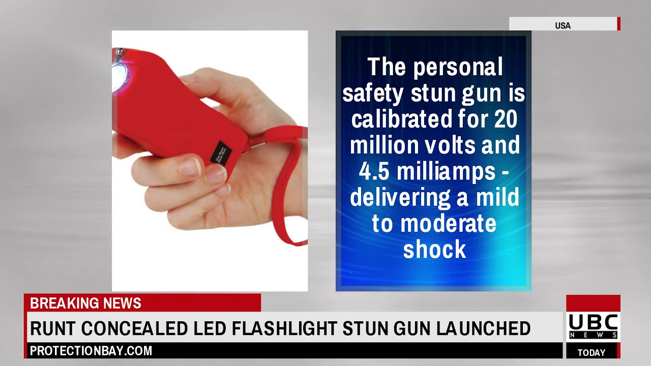 Personal Protection Products Runt Concealed LED Flashlight