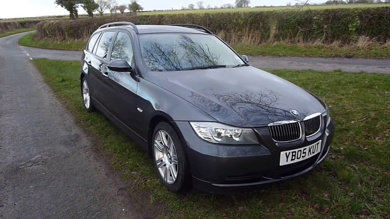bmw 320d touring e91 e90 review youtube