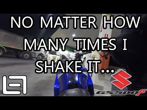 Petrol time - Suzuki GS500F - 21 March 2017