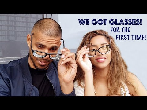 WE GOT GLASSES FOR THE FIRST TIME! | VLOG | ARIBA PERVAIZ