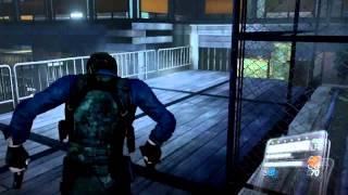 Resident evil 6 Leon walkthrough part-28 { We've gotta get to that Helicopter !! }