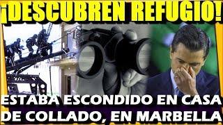🔴 ULTIMA HORA ¡ DESCUBREN REFUGIO DE PEÑA EN MARBELLA ! SE VUELVE A FUGAR - ESTADISTICA POLITICA