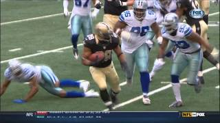 2012 Saints Yearbook: Chris Ivory, Mark Ingram & Pierre Thomas