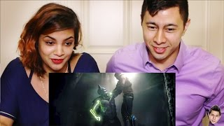 INJUSTICE 2 Announce Trailer PS4 Reaction by Jaby & Eleanor!
