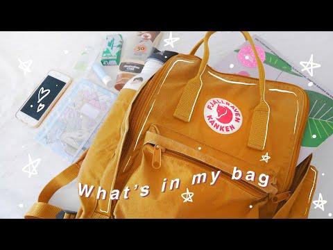 What's In My Bag *artist Edition* 🌿 Fjällräven Kanken 15