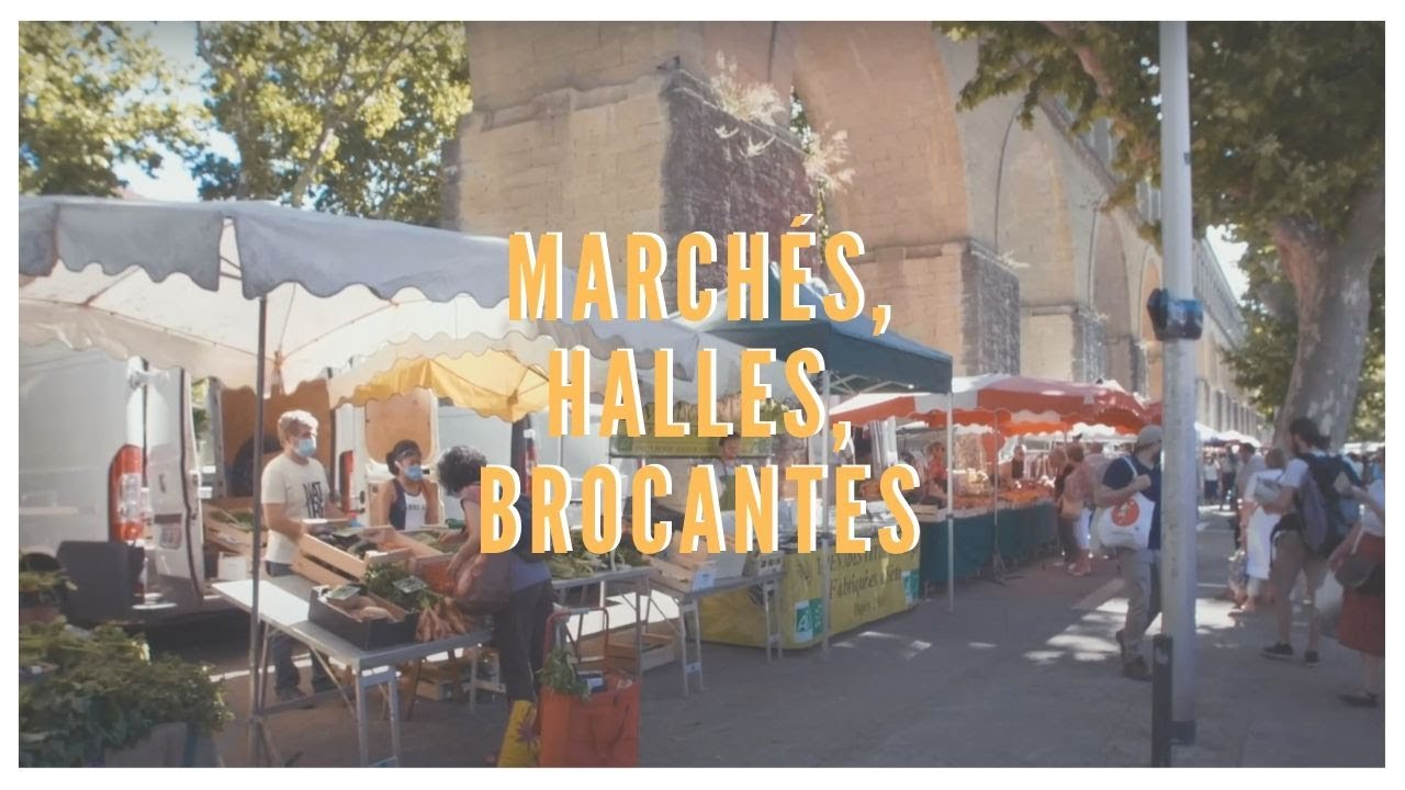 Marchés, Halles et Brocantes