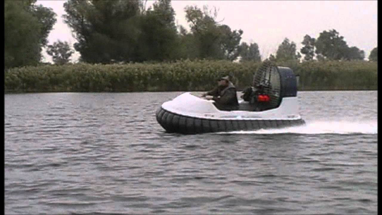 "Тест-драйв судна на воздушной подушке ""Tornado F-50"" - YouTube"