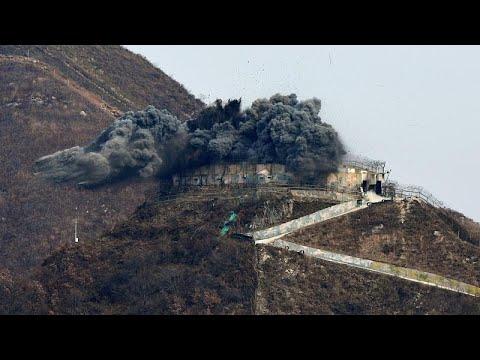 شاهد: كوريا الجنوبية تدمر نقطة مراقبة عسكرية تطل على كوريا الشمالية…  - نشر قبل 3 ساعة