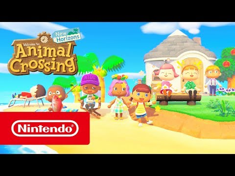 Animal Crossing: New Horizons – Welcome to Island Life! (Nintendo Switch)