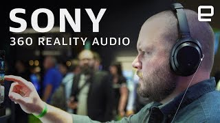 Sony 360 Reality Audio Hands-On at IFA 2019