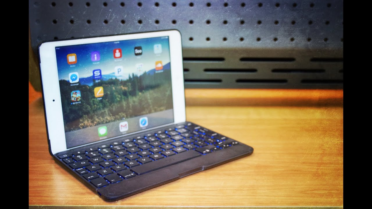 d650a104f62 ZAGG folio backlit keyboard & case for the iPad Mini & iPad mini w/retina  review!