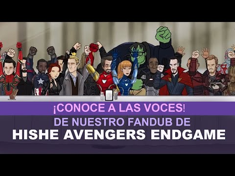 Las voces del fandub de HISHE Endgame