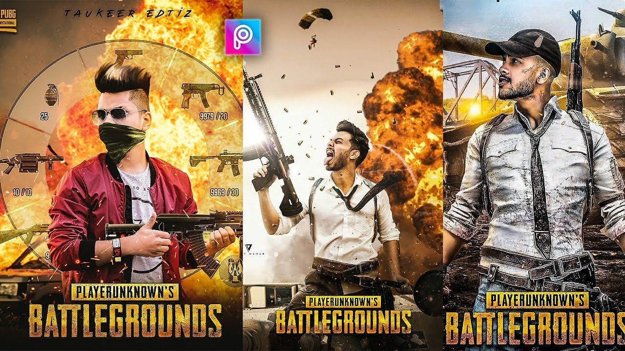 PicsArt PUBG Poster Photo Editing Tutorial In PicsArt Step