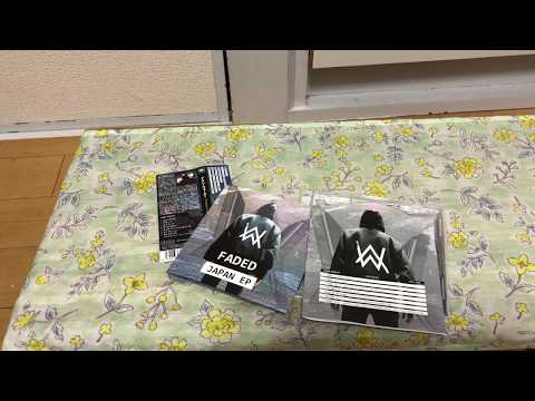 Alan Walker Faded Japan EP Unboxing