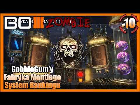 Call Of Duty Black Ops III Zombie - Gumy, Fabryka Montiego, Rank System : Shadows Of Evil #10