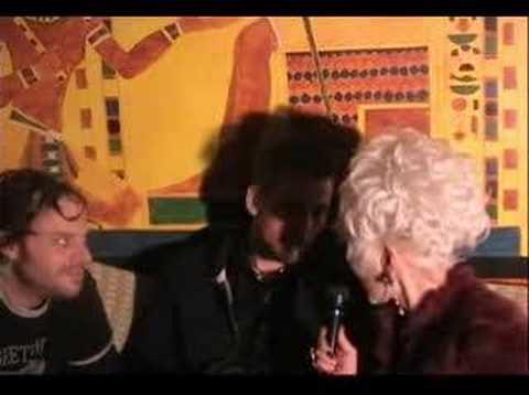 Cognac  interviews Diablo Royale at Moomia lounge in Soho.