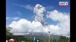 Mt. Mayon isinailalim na ng PHIVOLCS sa alert level 4