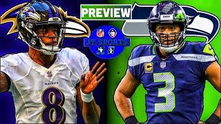 Baltimore Ravens vs Seattle Seahawks Preview & Prediction | NFL Week 7 Predictions