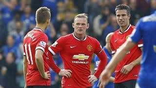 Leicester City Vs Manchester United 5-3 All Goals & Highlights (EPL 2014/2015) HD 720p