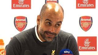 Arsenal 0-2 Manchester City - Pep Guardiola Full Post Match Press Conference - Premier League