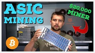 What Is Cryptocurrency ASIC Mining? $20,000 ASIC Tear-Down | Who Makes ASIC Miners?