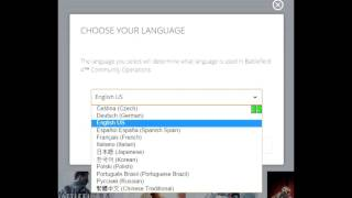 Как поменять язык игры Origin