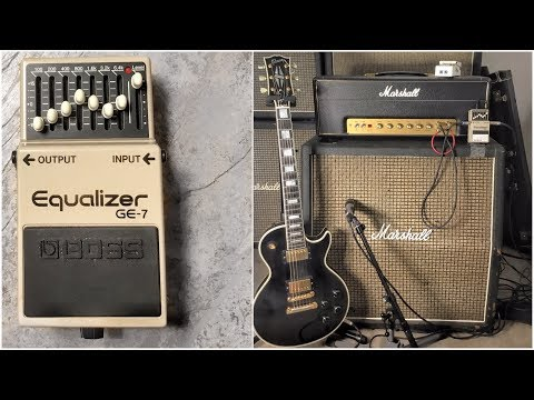Can you get Slash's and Van Halen's tones with a BOSS EQ Pedal?