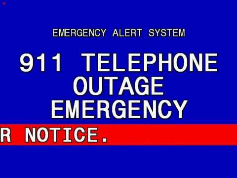911 Telephone Outage Emergency: Ohio