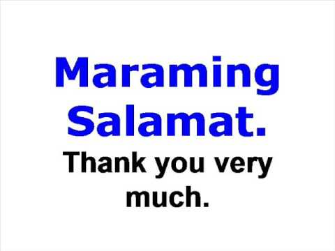 thank you very much in tagalog